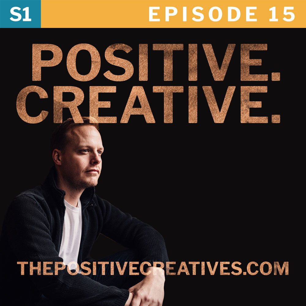 The Spotlight Effect and Creativity - The Positive Creatives Podcast Episode 15