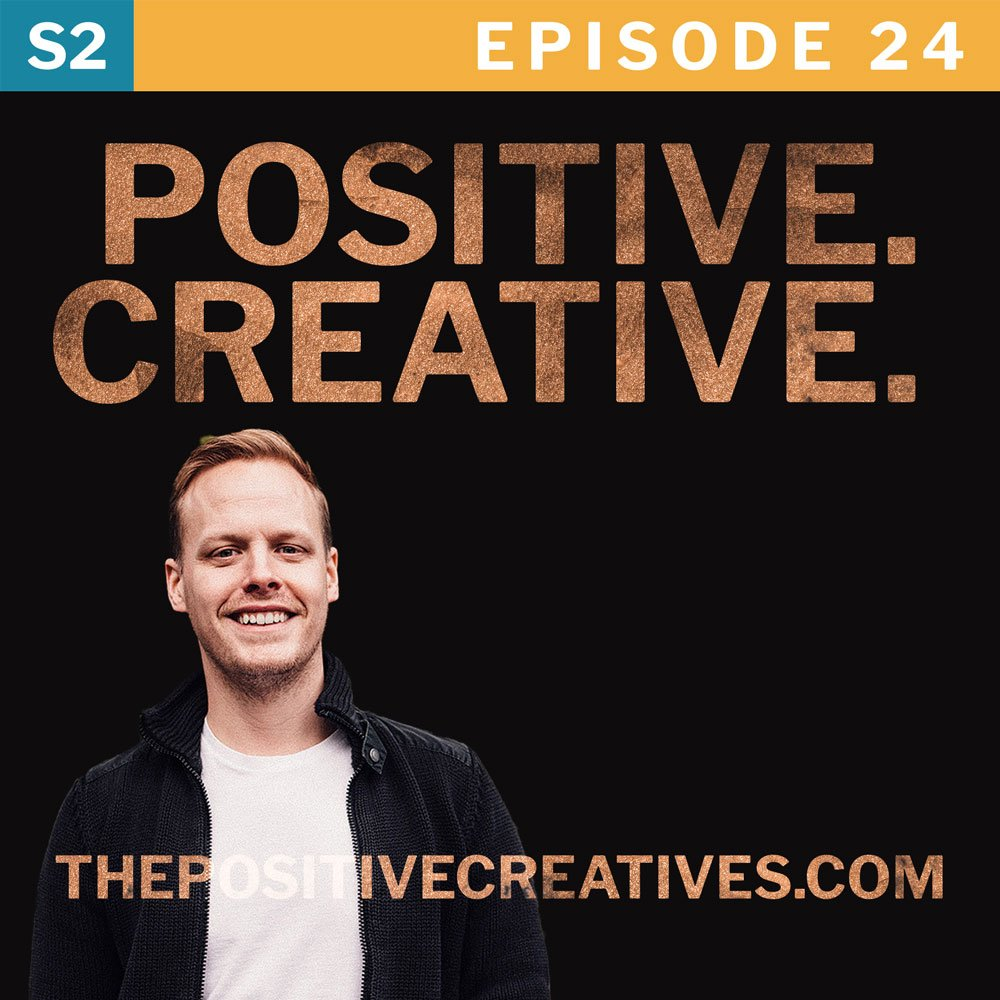 What if you quit your creativity? Episode 24 of The Positive Creatives podcast.